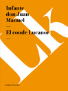 El conde Lucanor (eBook)